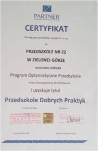 certyfikat-optymistyczne-przedszkole